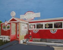 Brunswick Diner 12x15