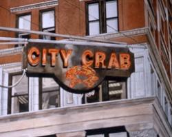 City Crab 12x16