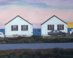 Cottages at Dawn 20x60