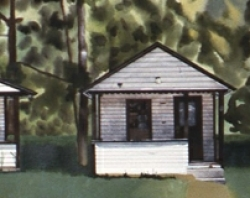 Four Cabins 15x48