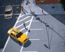 Yellow Cab 30x40