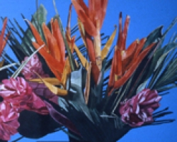 Tropical Bouquets 20x40