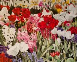 Tulips with Hyacinth 24x36
