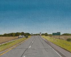 I-70 Indiana 12x16