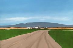 Montana Farm 11x14