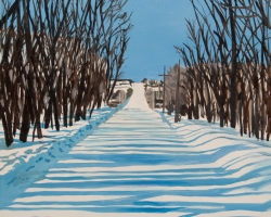 Winter Road 12x12